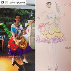#Repost @poromporom (@get_repost) ・・・ 沢山の反響を頂いて嬉しかった ワーハピの昨日の衣装❤️❤️❤️ のんちゃんのアィディアで 「タイムマシーンにお願い」 の歌詞からジュラ紀のティラノザウルス 鹿鳴館のスカート、タップダンスのシューズ ミンクの装飾などミックスしてデザイン、スタイリングしました。トップスはNon Tシャツの カスタム。尻尾は大好きなデイジーバルーンに 衣装は田中かおりさんに製作して頂きました。 1日だけの特別な衣装となりました。 #のん #daisyballoon #worldhappiness