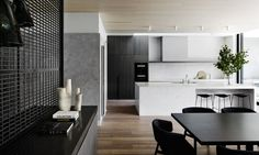 {Bonus Friday Feature post from Mim Design. This time it's actually a residential project - they carry on that clean-lined aesthetic on those too!} Informing the design was the requirement to...