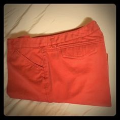 J. Crew favorite fit ankle pants. Size 12 J. Crew favorite fit ankle pants. Size 12. Rusty orange color. Cute ankle pants. make me an offer no trades. MS20 J. Crew Pants Ankle & Cropped