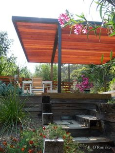Contemporary Pergola Design Ideas, Pictures, Remodel and Decor