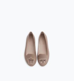 ZARA - COLLECTION AW15 - SLIPPERS BRODÉS