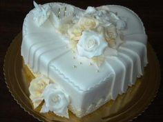 Srdce biela - maslová