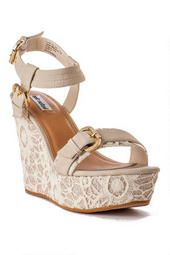 Swizzle Glitter Wedge francesca's collections