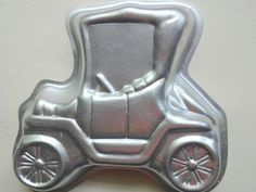 Vintage Model T Shaped Wilton Cake Pan 1975 by WylieOwlVintage, $8.00