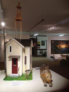 Konstnären Lim-Johans hus på museet,