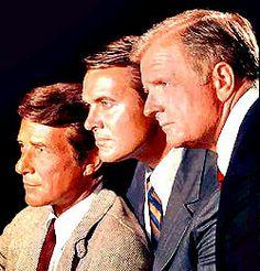 The F.B.I. (1965–1974) - Cast and history: http://www.imdb.com/title/tt0058801/  Theme music: http://youtu.be/crCZtW7u-NE