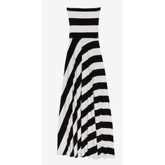 Nadia Tarr Exclusive Striped Jersey Dress/Skirt ($278) ❤ liked on Polyvore