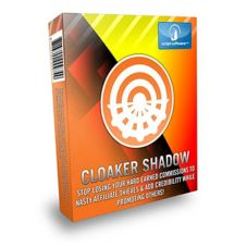 Cloaker Shadow - (SOFTWARE) - Stop losing your hard earned     commissions to nasty affiliate thieves and add credibility while     promoting others.Discover what this amazing software does:* Hide     your ugly affiliate links and boost your click through rate by at     least 200%* Protect your affiliate links and keep your hard earned     commissions from being stolen from the nasty affiliate thieves...     And, much more!