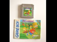 Nintendo Gameboy Game GBC GBA SP BART SIMPSON'S ESCAPE FROM CAMP DEADLY + Manual