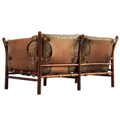 'Illona' Sofa by Arne Norell | From a unique collection of antique and modern sofas at https://www.1stdibs.com/furniture/seating/sofas/