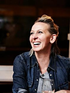 Gabrielle Hamilton - severe food crush. Best sweetbreads of my life at Prune.