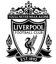 football_badge_liverpool Teenagers coloring pages