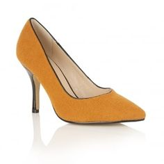 Mustard+Tiana+Court+Shoes, £28.00
