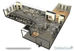corporate workout center design - Google Search