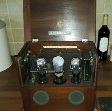 Marconi V2 Early BBC Valve Radio