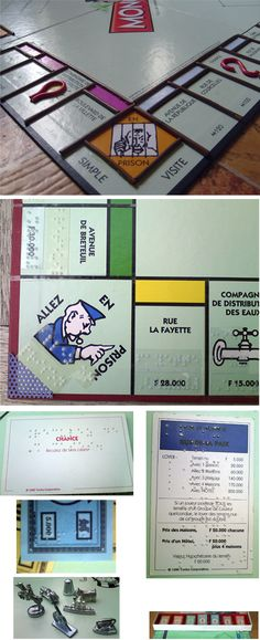 Monopoly for the blind