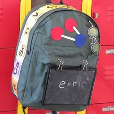 DIY Scientific-Terrific Backpack