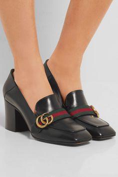 Gucci | Leather pumps | NET-A-PORTER.COM