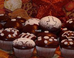 S fotopostupom ▶… Cupcake Recipes, Dessert Recipes, Christmas Cookies, Sweet Recipes, Gingerbread, Xmas, Cooking Recipes, Cupcakes, Favorite Recipes