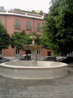 La Fuente de la Plaza de San Leandro...