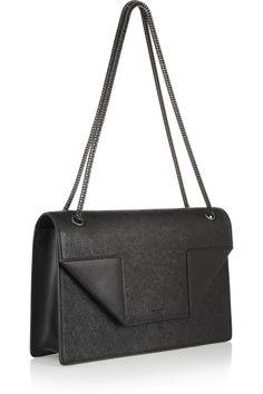 Saint LaurentBetty textured-leather shoulder bag