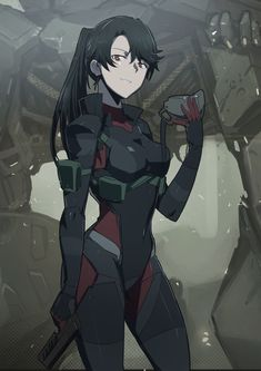 Female Character Design, Character Design Inspiration, Character Concept, Character Art, Concept Art, Fantasy Characters, Anime Characters, Cyberpunk, Anime Military