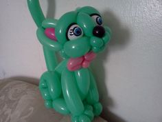 how to make balloon kitty cat..gato o gatito paso a paso video 1/3
