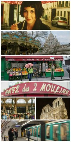"""A tour of Amélie's Paris: A Parisian getaway inspired by the quirky + romantic French film, """"Amelie."""" Includes filming locations so you can plan your own Amelie-themed Paris vacation."""