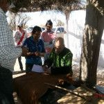 El programa sanitario Lleguemos al Barrio asistió en el Paraje de Tucumanao del Salar del Pipanaco