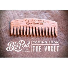 """Working on a series of combs in very limited runs. We've come across some gorgeous woods and want to offer them to you all in some of our classic original designs as well as some new. Look for """"The Vault"""" soon on our website. #bigredbeardcombs #beardcomb #beards #bearded #beardedmen #pocketcomb #beardoil #beardbalm #beardgrooming #beardstildeath #beardstagram #noshave #girlswholovebeards #gentleman #mustache #mustachewax"""