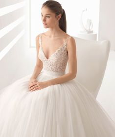 Rosa Clara Fall 2018 princess ball gown wedding dress