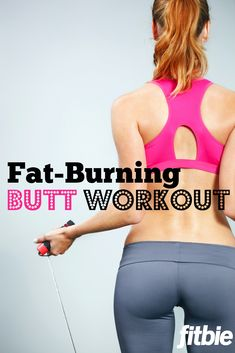 This fat-burning routine will sculpt your booty in time for bikini season.