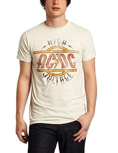 Impact Men's AC DC High Voltage T-Shirt - http://bandshirts.org/product/impact-mens-ac-dc-high-voltage-t-shirt/