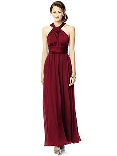 Twist Wrap Dress w/ Chiffon Overskirt: Long http://www.dessy.com/accessories/twist-dress-chiffon-overskirt-long/