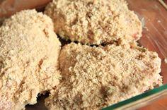 Crispy Indian Spiced Yogurt Chicken  http://thenoshery.com/2009/08/06/crispy-indian-spiced-yogurt-chicken/