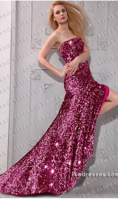 parkling strapless floor length fully sequined gown http://www.ikmdresses.com/sparkling-strapless-floor-length-fully-sequined-gown-p60402