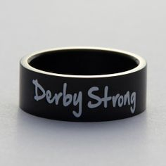 I am...Derby Strong.  Awesome Roller Derby Ring!!!