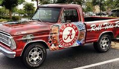 Photo: The greatest Bama Roll Tide truck you've ever seen ...