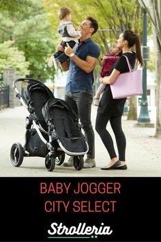 Baby Jogger City Select and City Select Lux Strollers & Accessories City Select Stroller, Baby Jogger City Select, Baby Jogger Stroller, Baby Strollers, City Select Lux, Baby Transport, Convertible Stroller, City Mini Gt, Double Strollers