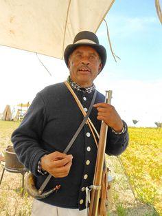 The Battle of Caulk's Field, a bicentennial event for the War of 1812.  Kent County, MD