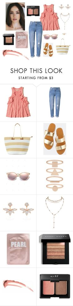 """#008"" by midnightjade ❤ liked on Polyvore featuring Hollister Co., WithChic, Phase Eight, Accessorize, Bobbi Brown Cosmetics and Charlotte Russe"