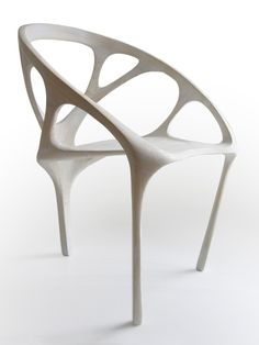 Daniel Widrig chair, plywood