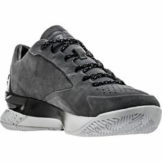 6b44172b55c7 Stephen Curry Under Armour Shoes 1 Lux Low Gray Sde Men Size 8  new w