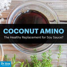 Coconut aminos - Dr. Axe http://www.draxe.com #health #holistic #natural