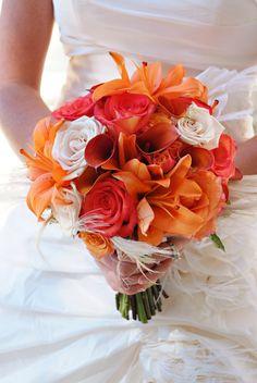 ✿♥♥✿ automne ♥  bouquet orange ✿♥♥✿