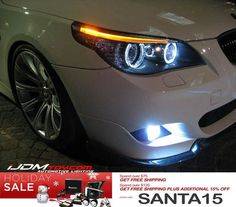 Today's holiday sale features LED angel eye ring marker bulbs for your BMW!   check it out http://store.ijdmtoy.com/BMW-E39-E60-E61-E63-X5-5W-LED-Angel-Eye-Bulbs-p/75-000.htm  #iJDMTOY #JDM #Cars #CarParts #LED #AngelEyes #HaloRings #BMW #Euro #5series #7series #6series #X3 #X5