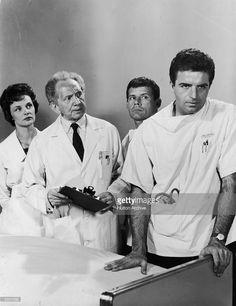 #Sixties | Bettye Ackerman, Sam Jaffe, Harry Landers and Vince Edwards in Ben Casey