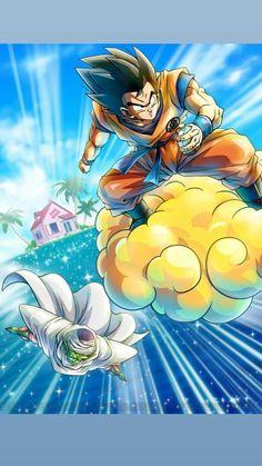 Dragon 🐉 Ball Z: Goku & Piccolo Tattoo Film, Manga Tattoo, Dragon Ball Gt, Dragonball Goku, Anime Disney, Comic Art, Comic Books, Akira, Majin