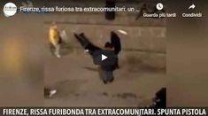 Firenze, rissa furiosa tra extracomunitari: un ferito. Spunta pistola - VIDEO SHOCK FIRENZE RISSA FURIOSA TRA EXTRACOMUNITARI, UN FERITO, SPUNTA PISTOLA: rissa in piazza dei Ciompi a Firenze, verso le 19.30, dove un uomo di origine magrebina è stato aggredito da un gruppo di quattro o cinque persone, tutti pare di origine nordafricana. Secondo una prima ricostruzione dei carabinieri, intervenuti sul posto, l'uomo sarebbe stato colpito anche con delle mazze, riportando varie Video