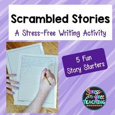 Story starters help students get beyond the difficulty of beginning a story and…